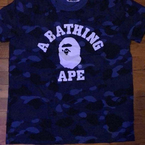 c0e74394 Bape Shirts | Camo Tshirt Size Lxl | Poshmark